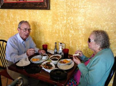 thelma-and-jack-at-a-separate-table-columbian-food2